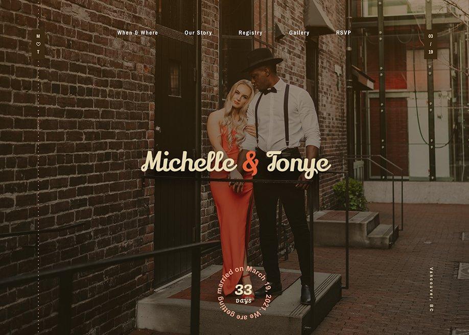 Michelle & Tonye - Wedding Day