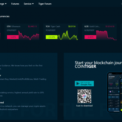 CoinTiger - Bitcoin Exchange Cryptocurrency Exchange