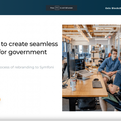 Blockchangers – Digital Ecosystems for the Public sector – Top Blockchain Companies