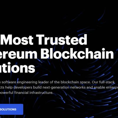 ConsenSys Blockchain Technology Solutions – Top Blockchain Companies