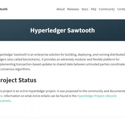Hyperledger Sawtooth – Best Blockchain Platforms