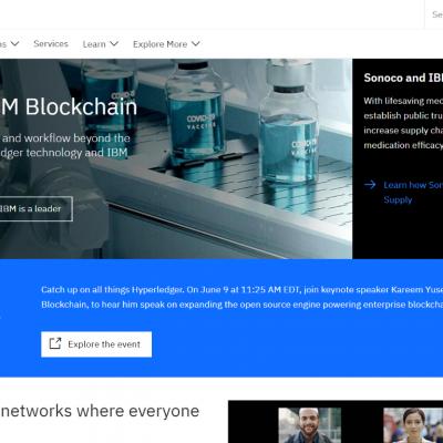 IBM – Best Blockchain Platforms