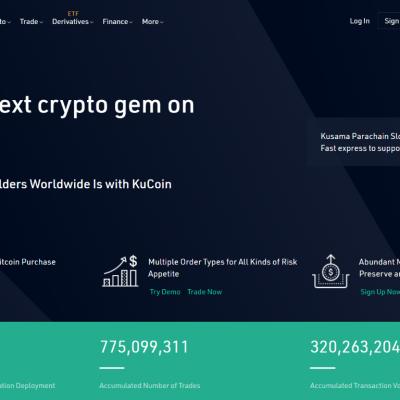 KuCoin - Cryptocurrency Exchange Buy & Sell Bitcoin