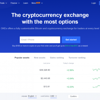 OKEx - Cryptocurrency Exchange Buy Bitcoin Bitcoin