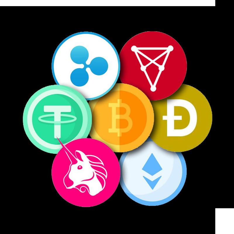 crypto collage