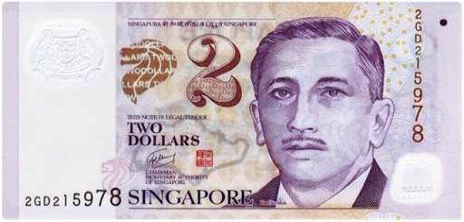 2 Dollers Singapore