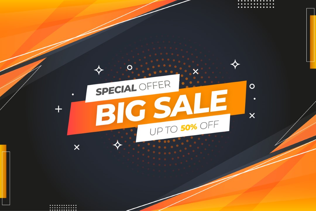 Special Big Sale Up To 50% OFF
