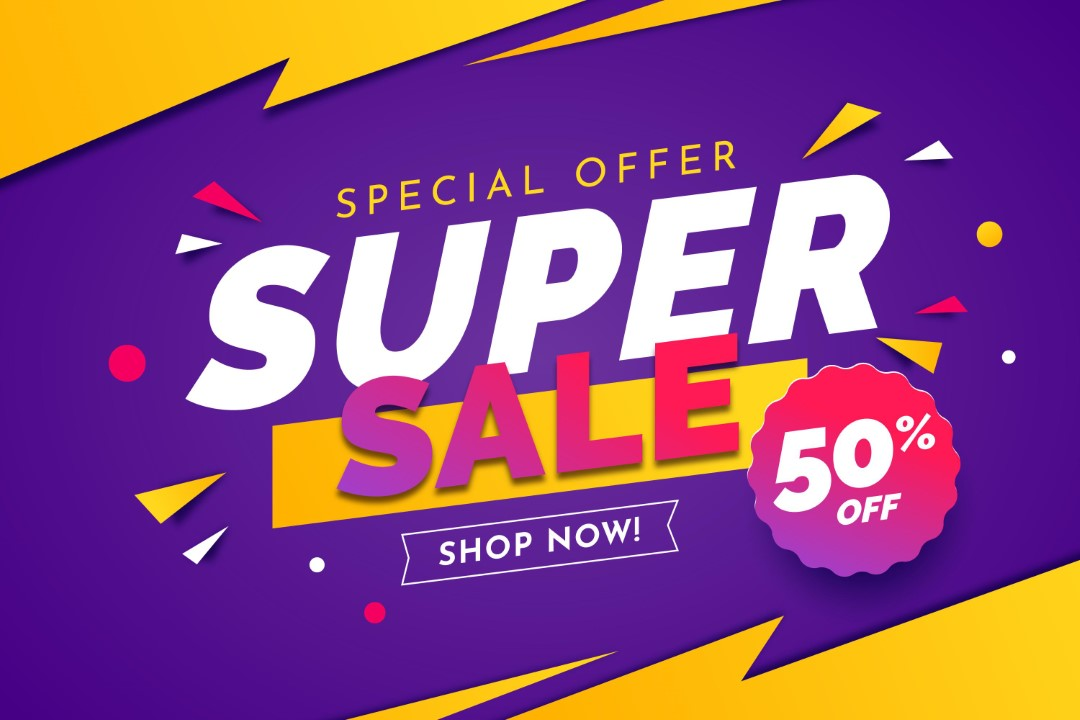Supper Sale Up To 50% OFF
