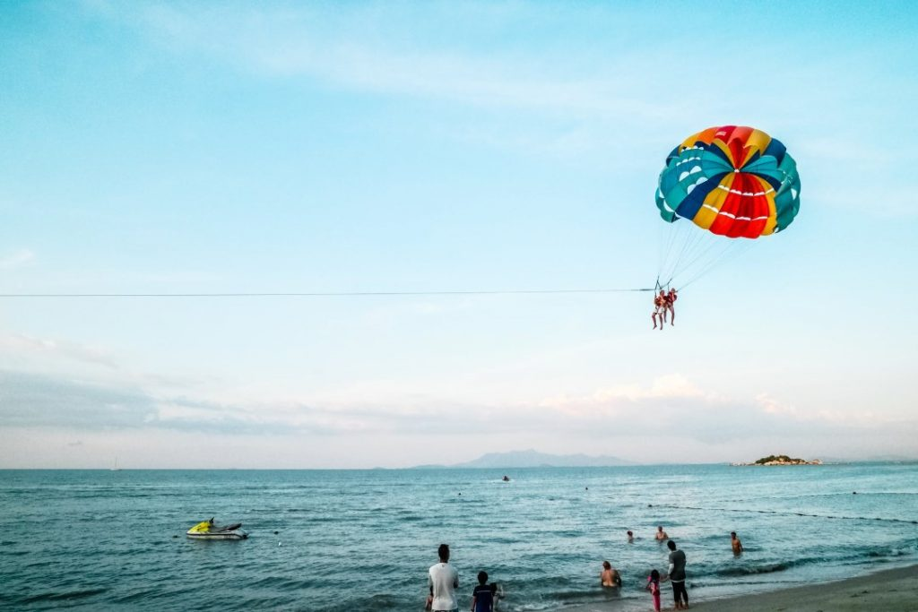 Parachute Riding