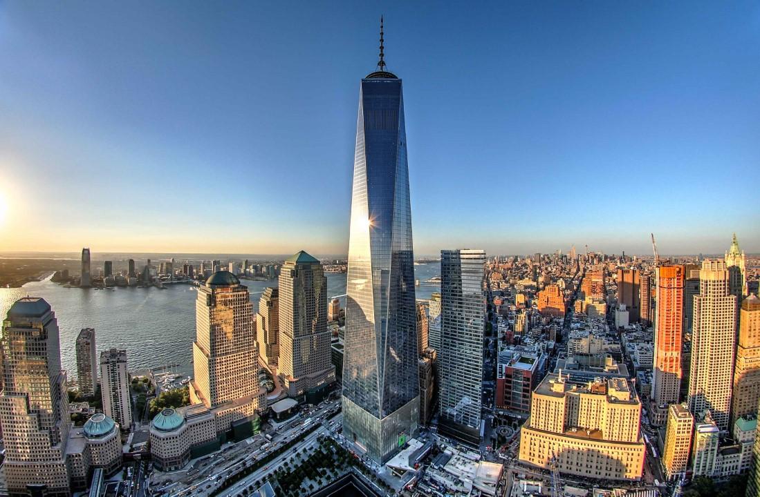 6. One World Trade Center – 1,776 feet