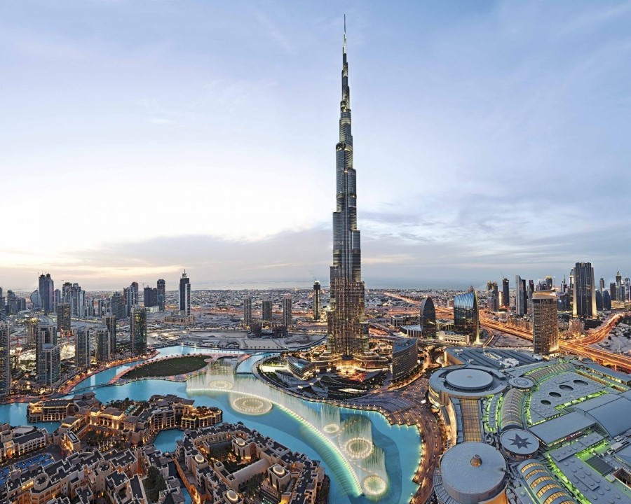1. Burj Khalifa – 2,717 feet