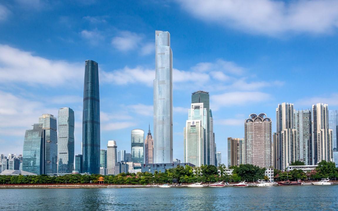 7. Guangzhou CTF Finance Centre – 1,739 feet