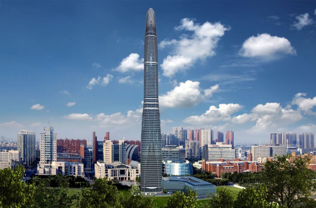8. Tianjin CTF Finance Centre – 1,739 feet