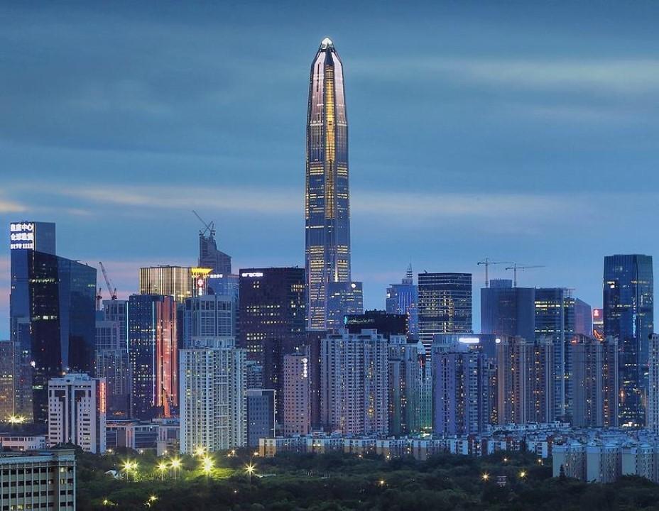 4. Ping An Finance Center – 1,965 feet