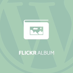 Flickr album gallery pro