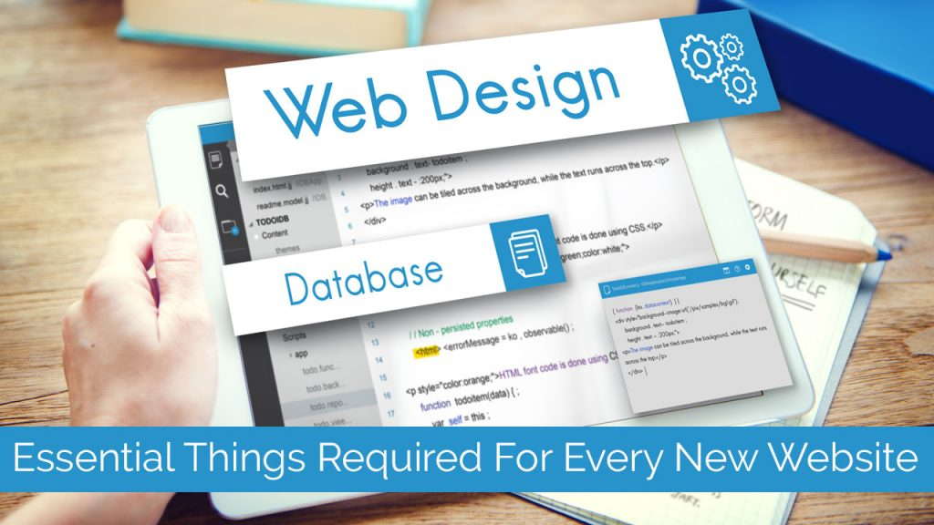 Essential Things Required For Every New Website