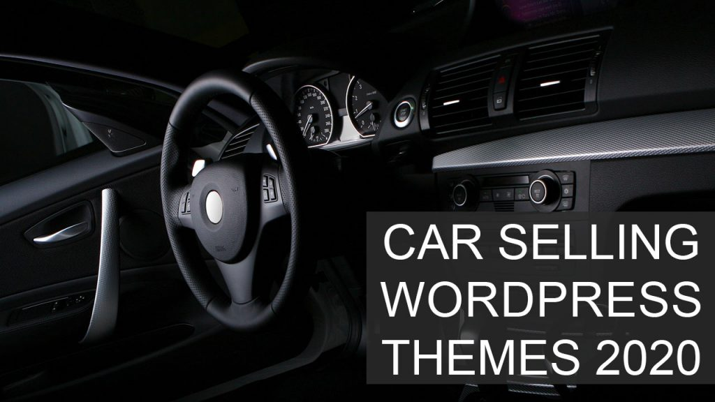 Top Car Selling WordPress Themes 2020 - Best Automobile WP Themes