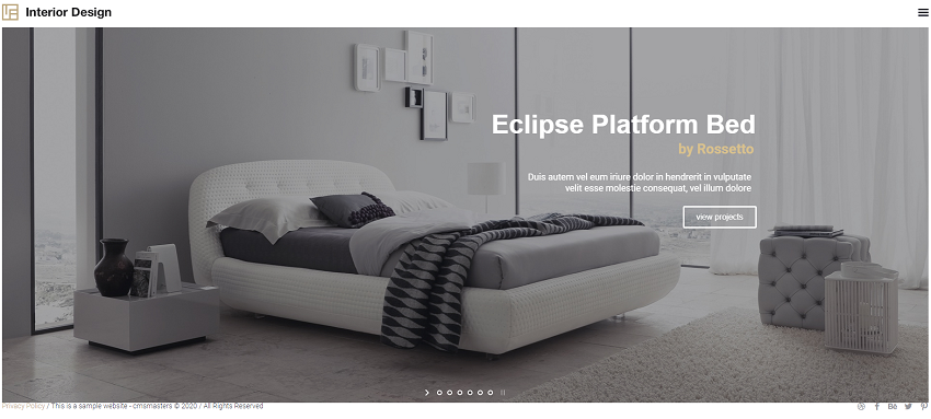 Interior Design - Architecture WP Theme