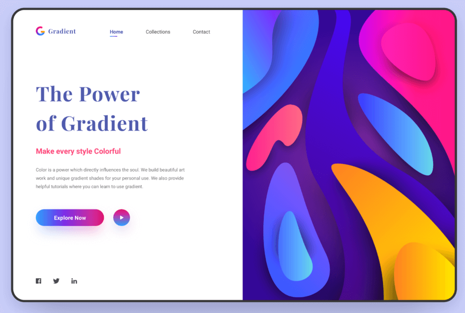 By Gradient Web Concept @Behance