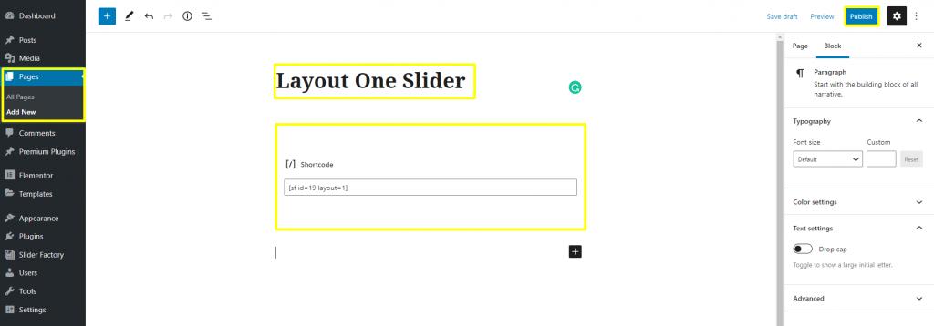 Slider Factory Free WordPress Plugin Docs 3-1