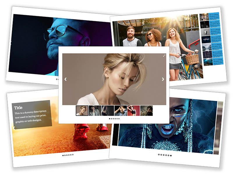 Ultimate Responsive Image Slider Pro Mockup Image 2021