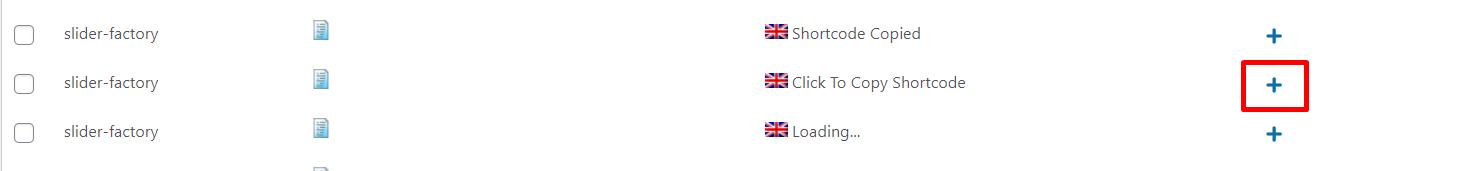 WPML translation string button