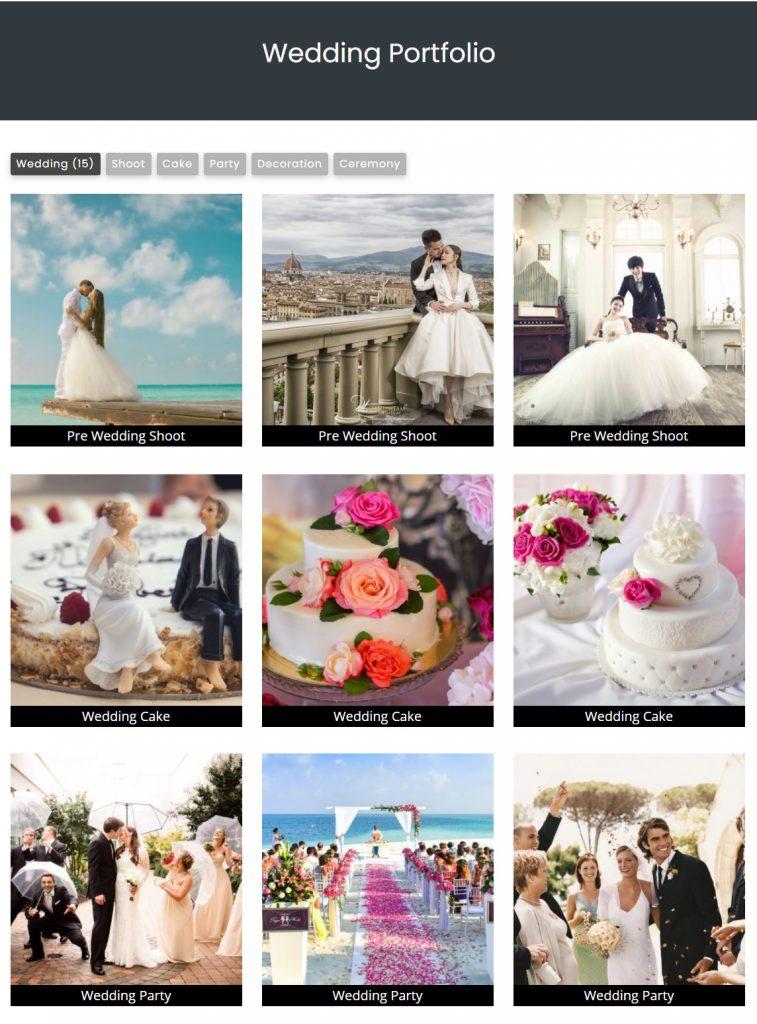 Filter Gallery WordPress Plugin