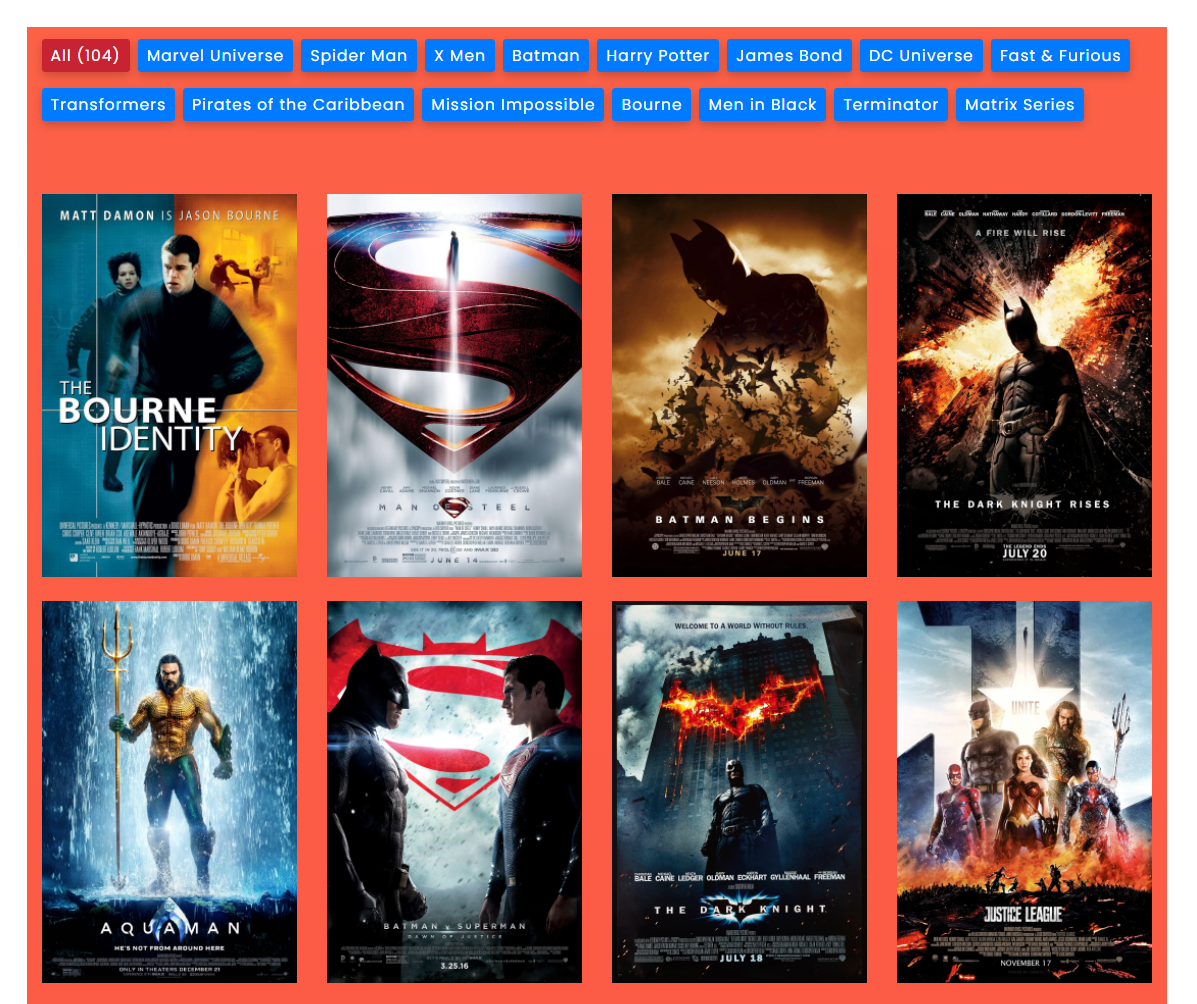 latest movie gallery with filters - filter gallery premium - wpfrank