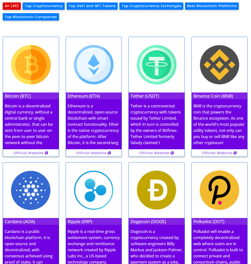 top cryptocurrency coin - filter gallery premium - wpfrank