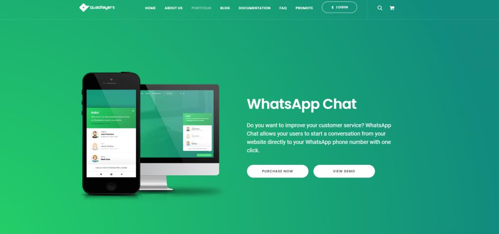 WP Social Chat - Free and Premium
