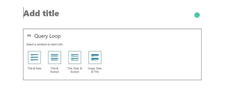 New blocks in WordPress 5.8 include page listings, site titles, and site logos