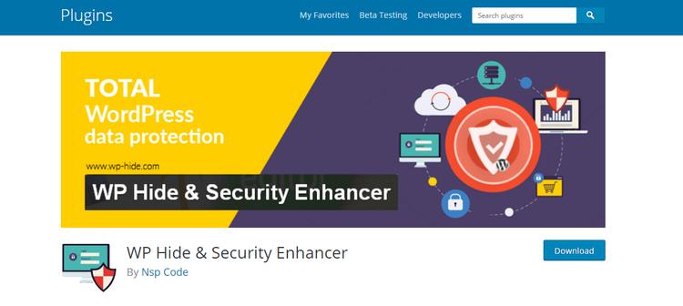 WP Hide & Security Enhancer  plugin